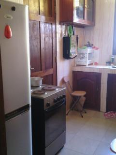 Kitchen with Private Balcony