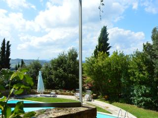 I Casaloni, La Torre apt. in farmhouse in Chianti