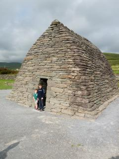 Gallarus Oratory, built 1,200 years ago, part of an amazing drive