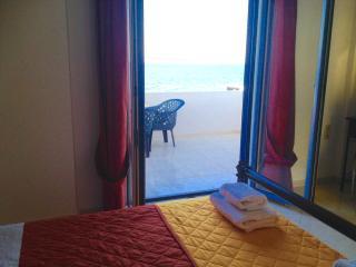 seafront villa lesbos island m1, Skala Mistegnon