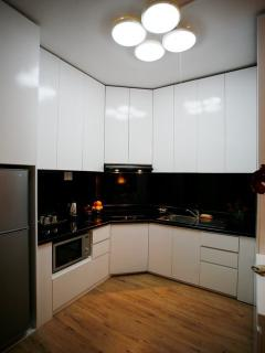 Kitchen area - ft hot plate - fully equipped kitchen facilities