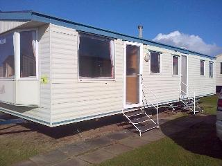 static caravan at sandylands in saltcoats, Saltcoats