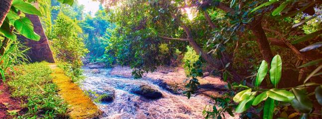 Tukad Pangi River