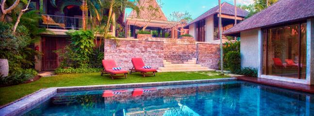 View from Lower Pool at Villa Tukad Pangi
