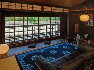River side traditional  house Yaeya Toichi cho, Kioto