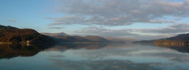 View from Barmouth bridge