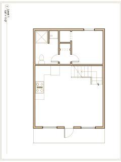 ALPINE Cabin | Lower Level Floor Plan