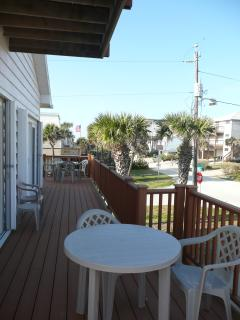 Front of 2nd Floor Deck