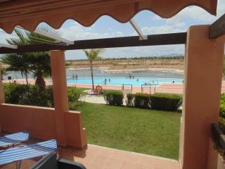 Luxury pool side apartment., Alhama de Murcia