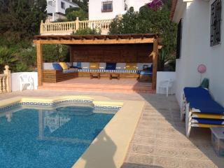 Javea Villa with pool near Arenal WiFi & Air Con