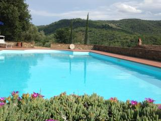 countryhouse for 2 with private pool in Tuscany, Pergine Valdarno