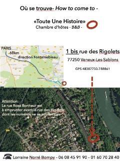 Situation en bord de Seine