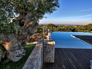 Bianca Lamafico modern villa sea view with pool, Polignano a Mare
