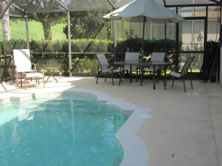 Pool, Patio and Outside dining area