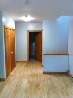 Lower level hardwood floors
