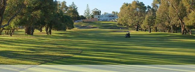 Mandurah Country Club Golf Course 5 mins away