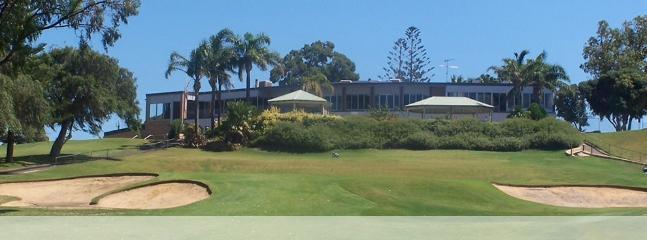 Mandurah Country Club Golf Course is 1 km away