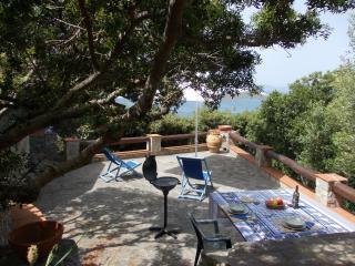 Cottage over the Cliff Tuscany Sea, Cala Piccola
