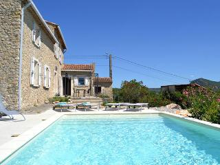 Saint-Ambroix Gard, Charming stone house 8p. private pool