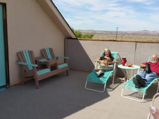 Your private sundeck awaits you.  Great for sunning during the day and stargazing at night.