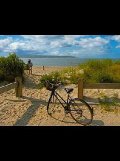 BIKE TO THE BEACH.. 2 Miles from the house..