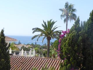 Panoramic sea views from balcony / terrace off bedrooms 1 & 2