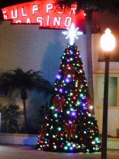 Gulfport Christmas time