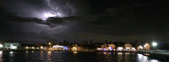 Lightning show over Gulfport