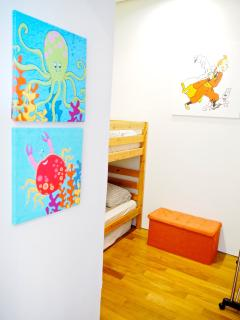 Bunk bed in the 2nd room