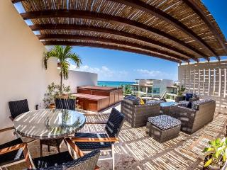 Ocean View Penthouse at The Elements PH 18, Playa del Carmen