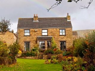 Beechcroft Cottage on a peaceful pet free site in Reeth.  Huge garden, parking