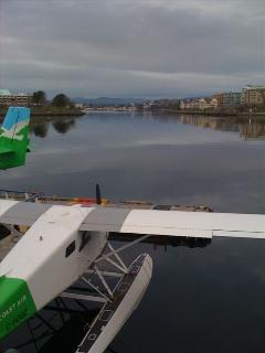 Arrive into Victoria's Inner Harbour aboard a sea plane