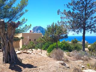Exclusive Ibiza Villa with oceanview and sunset, Cala Carbó
