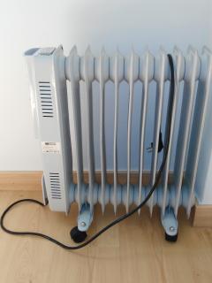 Radiador extra para los más frioleros