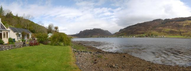 view up Loch Long from Garden