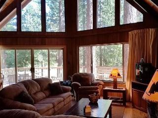 Relax in this classic Chalet style cabin walking distance from Fly-In Lake!, Arnold