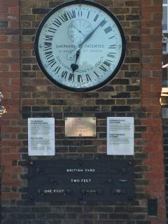 Greenwich mean time line outside Observatory