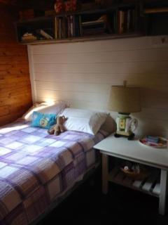 main cabin bedroom #2, double bed, excellent mattress