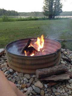 Relax By The Fire Pit