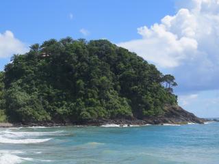 bangalo em resort frente ao mar