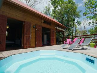 HAMAC'ABANE Bouillante, villa 6p, piscine, vue mer