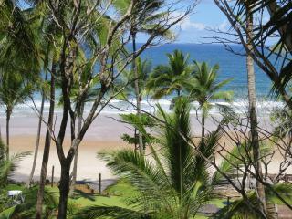 bangalô em resort frente ao mar