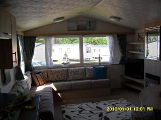Willerby Salsa Echo. Classified as a Prestige van, Watchet