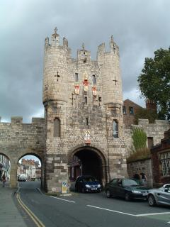 Micklegate Bar one of several Bars (gate houses)