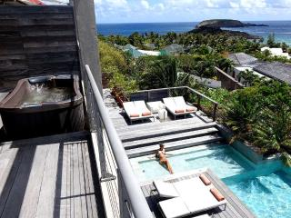 Luxury Suite in St Barts overlooks the lagoon