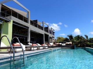 Luxury Suite in St Barts overlooks the lagoon