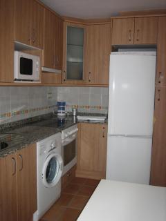 Una completa cocina