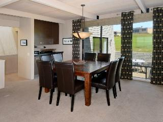 Dining room with access to patio
