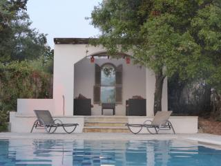 Agios stephanos villa grace On the nrth east coast with large private pool