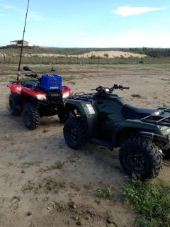 ATV's onsite availabe for rent. Surfboard, snorkle and fishing gear for rent too.